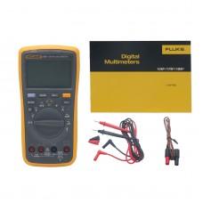 FLUKE F17B+ 17B+ Digital Multimeter Meter LED Backlight  AC DC Voltage Current
