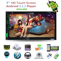 Car Player Android5.1.1 DVD GPS Navigation Drive Recorder HD 7.0Inch Touch Screen WiFi