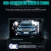 Car MP5 MP4 Player Bluetooth MP3 Radio Screen Rear View Audio 7.0Inch