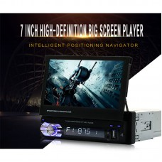 Car MP5 Player Bluetooth 7.0Inch Positioning Navigator HD 1080P Video FM Radio