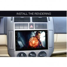 Car Android MP5 Player GPS Navigator WiFi Bluetooth MP3 Radio Screen Rear View 7.0Inch