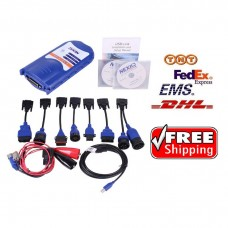 NEXIQ 125032 USB Link Truck Fault Diagnosis Tester + Software Diesel Truck Interface