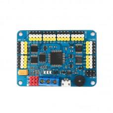 Robot Servo Motor Controller Panel 32 Channel 16M Storage for PS2 Handle