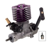 HSP 02060 Purple VX18 Engine Methanol 2.74cc Pull Starter for RC 1/10 Nitro Car Buggy