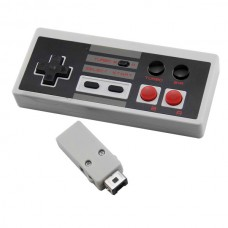 2.4G Wireless Controller Gamepad Receiver for NES Classic Edition Mini