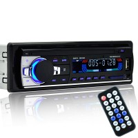 JSD520 Car Audio MP3 Player 12V 24V USB Bluetooth Radio 60W 4 Channel