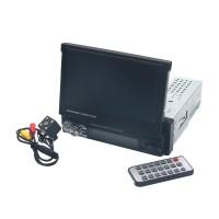 "Car Radio Mp5 Mp3 Player 7"" 1 Din Touchscreen GPS Navigation Bluetooth USB+Camera"
