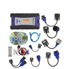 NexiQ 2 USB Link Heavy Duty Truck Diagnostic Scanner Tool +With BT Full Set