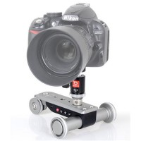 Wheeled Electric Photo Dolly Photography Camera Aluminium Alloy PPL-06S