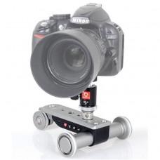 Wheeled Electric Photo Dolly Photography Camera Aluminium Alloy PPL-06S