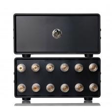 2(1)-IN-1(2)-OUT Audio Switcher Splitter Amplifier Speaker Passive Selector