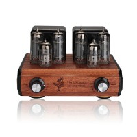 Nobsound Vacuum Tube Amplifier Mini 6N2+6P1 Push-Pull Integrated HIFI Power AMP