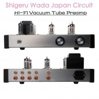 Tube Preamp 12AX7 12AU7 HiFi Pre-Amplifier Shigeru Wada Japan Circuit 30W Power