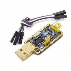 1PCS CH340G RS232 Upgrade to USB TTL Auto Converter Adapter STC Brush Module