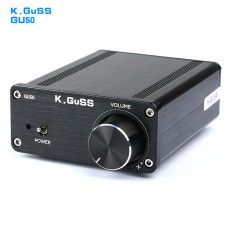 K.GuSS GU50 HIFI 2.0 class D TPA3116 Mini Borne Audio Power Amplifier Amplificador 2x50W DC12V to DC24V