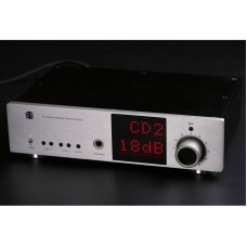Headphone Amplifier Stereo Single-ended HiFi XLR RCA Amp Gain Control