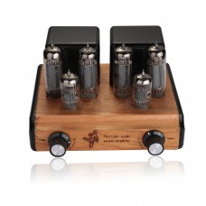 Mini 6P14 EL84 Vacuum Tube Amplifier Push-pull Stereo Power Amp 8W×2