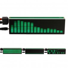 AK1616 16×16 LED Audio Spectrum Level Indicator VU Meters Music Display for Amplifiers