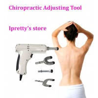 Electric Chiropractic Adjusting Tool Therapy Spine Activator Correction Massager White