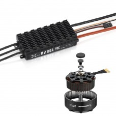 XRotor 8 FOC Power System 8120 100KV Motor + HV 80A FOC V3 ESC + Reverse Propeller