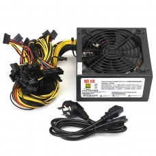 1300W Power Supply for 6GPU Eth Rig Ethereum Coin Mining Miner Dedicated