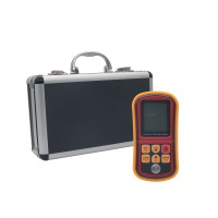 GM130 Portable Digital LCD Ultrasonic Thickness Gauge 1.0-300mm Velocity Meter Tester
