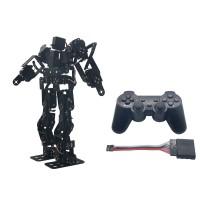 Assembled 17DOF Biped Robotic Educational Robot Kit Servo Bracket Ball Bearing with LD-1501 Servos & Controller