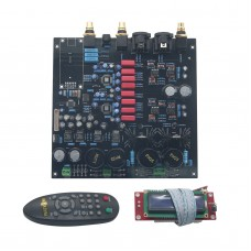 DAC Decoder Board for Audio Power Amplifier DIY with Remote Controller Support DOP DSD