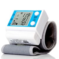 Full Automatic Digital Wrist Blood Pressure Monitor Pulse Rate Electronic JZK-001