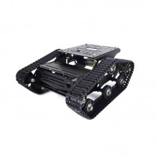TR300P 37 Motor Tank Tracked Chassis Unassembled Intelligent Car Robot