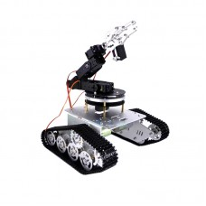 T300 Tank Car 37 Motor Plastic Metal Chassis +6 DOF Mechnical Arm Gimbal