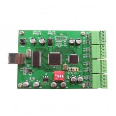High Speed Data Acquisition Card Module 8 channel USB2.0 16Bit 200Ksps +-5/10V Labview VC