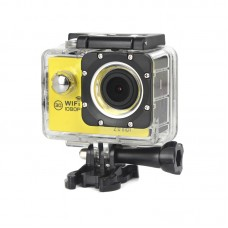 1200X HD Waterproof Sports DV Action Camera Wireless 3D Wifi 1080P 2.0'' Screen H16