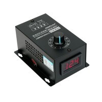 DC Motor Speed Regulator 6V-90V PWM Module 15A Digital Controller Switch Display with Insulation Shell