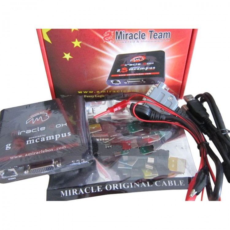 Miracle Box Unlocker Repair Flash Tool for Multi-brand