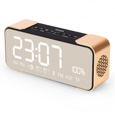 IFKOO Q8 Smart Bluetooth Speakers Mobile Phone Alarm Clock Time Display Format FM Radio
