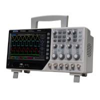 Hantek DSO4084C 4CH Digital Oscilloscope 64K 80MHz Bandwidth 1GS/s Sample Rate Range