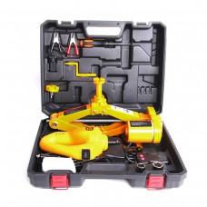2.0 Ton 12V Electric Car Jack  Scissor Floor Lift Auto Wrench 42mm