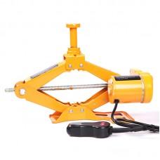 Electric Car Jack Scissor Floor Lift Auto Wrench 2.0 Ton 12V