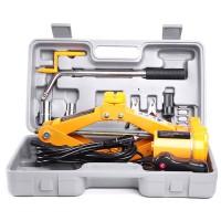 12V Automotive Car Jack Scissor Floor Lift Wrench 120-350MM 2.0 Ton