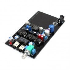 E10 Portable Amplifier Class A Amplifier Board JRC5532 10K Potentiometer for Telephone Headset