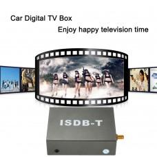 ISDB-T DVD Digital TV Receiver Car Mobile Set Top Box with Dual Antennas 12V