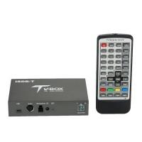 ISDB-T Car Digital Box Mobile HD TV Receiver Dual Antennas DVD Player Analog Signal