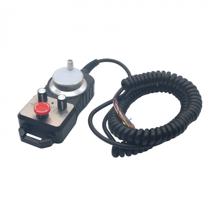 Universal CNC 4 Axis MPG Pendant Handwheel /& Emergency Stop for FAGOR GSK System