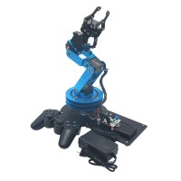 LeArm Assembled 6DOF Mechnical Robotic Arm with 6PCS Digital Servo and PS2 Handle Control