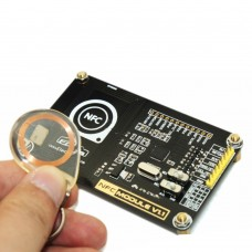 13.56MHz NFC RFID Breakout Module PN532 Development Board PCB Antenna with Cipher Key