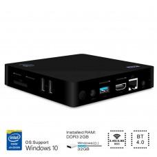 Z83II Mini PC Intel Atom x5-Z8350 Quad Core Windows 10 64bit 2.4G + 5.8G WiFi