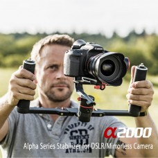 FeiyuTech A1000 3-Axis Handled Gimbal with Dual Handle Grip for Camera Smartphone