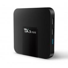 TX3 Mini 4K TV Box S905W Quad-core Android 7.1 64Bit 1GB + 16GB WiFi