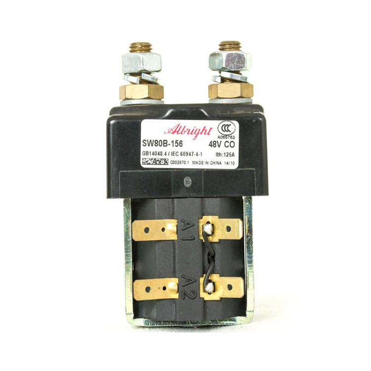 albright sw80b-156 contactor 48v for curtis zapi controller forklift - free  shipping - thanksbuyer